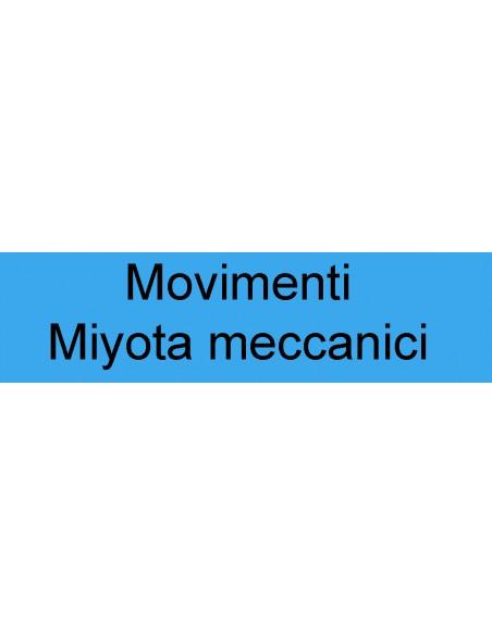 Movimenti Miyota meccanici
